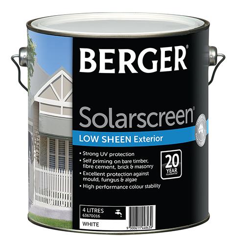 Berger inspiration exterior elegance - Exterior paint gloss or low sheen ...
