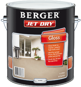 Berger Jet Dry - Heavy Duty