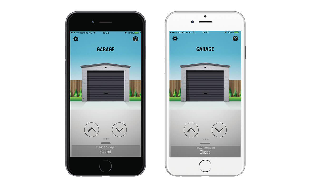 Smartphone Door Controls Control A Bd Doors Wiring Colour Code Australia Smart Phone