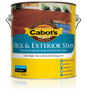 Decking Exterior Stain Water Based Longer Lasting Cabots